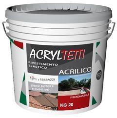ACRYLTETTI COLORE BIANCO KG 20